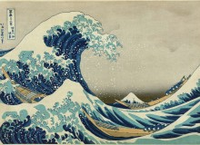 "The Great Wave off the Coast of Kanagawa from the series ""Thirty-six Views of Mount Fuji"" (ca. 1830-34), Museum of Fine Arts Boston"