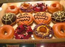 Krispy Kreme's spooky-scrumptious selection (Photo by Tommy Pham)
