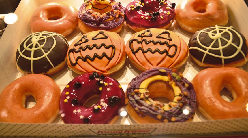 Krispy Kreme Halloween Donuts