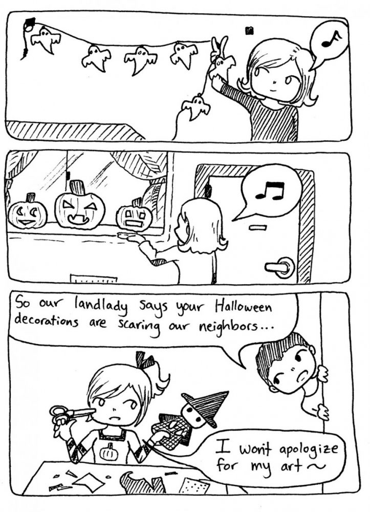 Halloween Decoration Etiquette