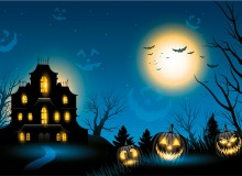 Find your horror home this Halloween (Image via 123RF)