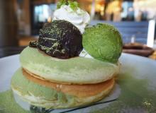 Green Tea Pancakes (Photo by Nina Janezic)