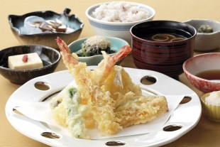 "Tempura at Japanese Restaurant ""Nakano"""