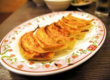 Ohsho's staple gyoza