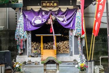 Shitaya Shrine in Inaricho