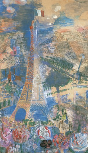 Eiffel Tower, 1923-24 or 1930, Raoul Dufy