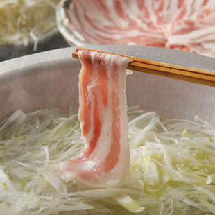 Pork shabu-shabu at Nidaime
