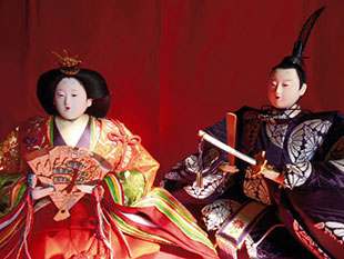 Traditional Japanese dolls at Jazzy