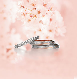 Traditional mokumegane rings by Mokumeganeya