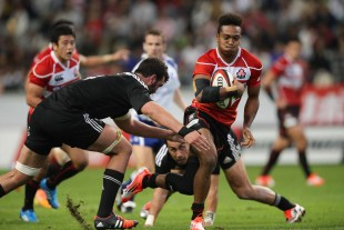 Japan vs Maori All Blacks in Kobe, Nov 1, 2014