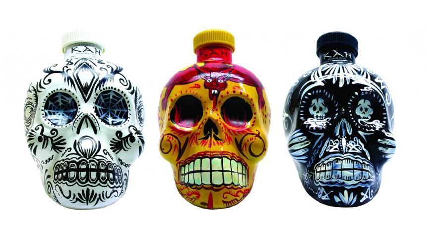 KAH Tequila's Festive Skulls
