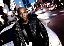 Nathan East in the city (Photo courtesy of Kharen Hill / Yamaha)