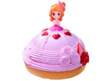 """Kirameki Dress"" Dreamy Crown Cake"