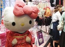 Hello Kitty ready to celebrate