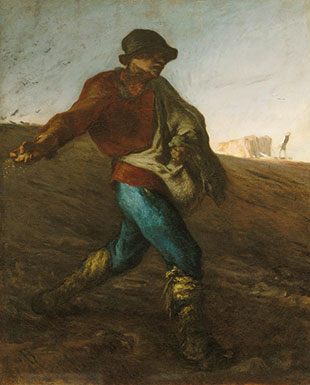 <em>The Sower</em>, 1850, Jean-François Millet