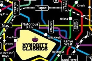 Mynority Classics' Hip Hop Subway Calendar