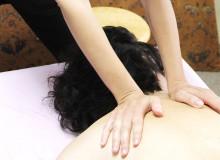Karen Carmeli heals a client