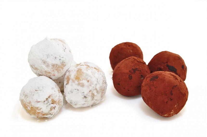 Okara Rum Balls