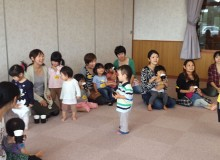 Kids at an APRICOT event