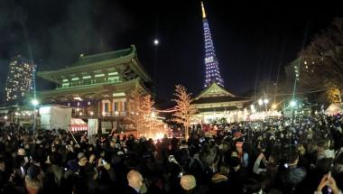 Tokyo Tower Hatsumode