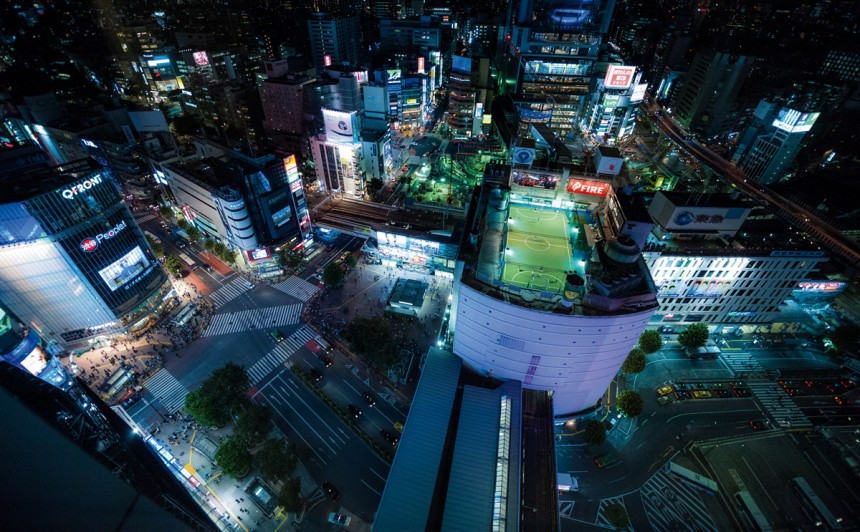 Shibuya As Seen From Above