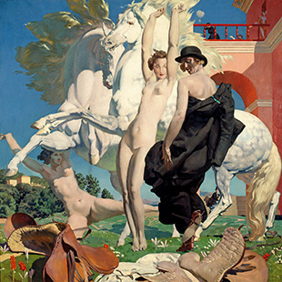 Eugène-Robert Poughéon,The Serpentc. 1930