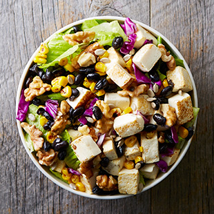 The Earthy Nutty Crunchy Salad