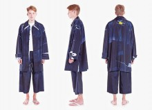 Tigran Avetisyan's menswear collection at WUT