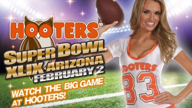 Patriots and Seahawks Coming to Hooters