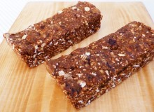Protein bars, fresh from the kitchen