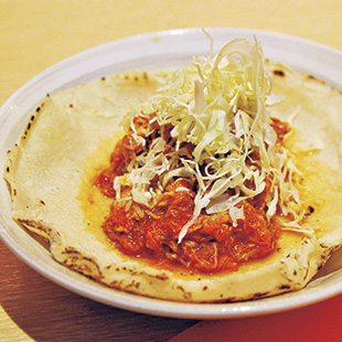 Mexican Chicken soft taco