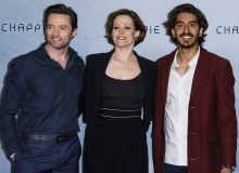 Hugh Jackman, Sigourney Weaver, and Dev Patel