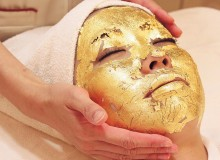 Gold facial treatment at Ciz Labo
