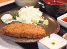 Beef cutlet at Iroha