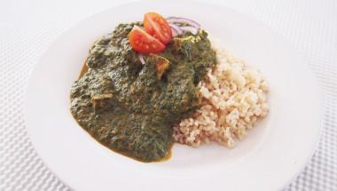 Vegan Spinach Tofu Curry