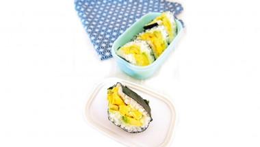 Avocado-Egg Onigirazu