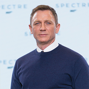 Daniel Craig reprises his role as Bond