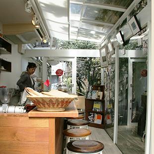 Mocha's sunny interior