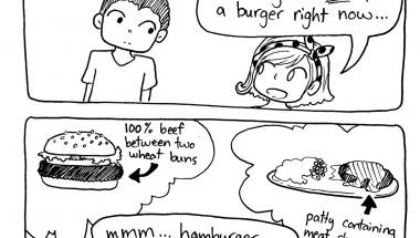 American Hamburgers vs. Japanese Hambāgu