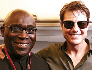 Smith with Tom Cruise