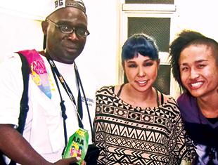 Smith with Ai and Hok