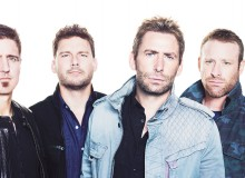 Nickelback: Daniel Adair, Ryan Peake, Chad Kroeger, and Mike Kroeger