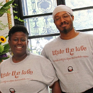 LaTonya and David Whitaker of Taste the Love