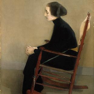 """""""The Seamstress"""", 1905"""