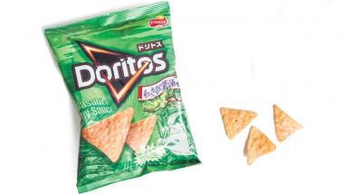 Doritos meets Wasabi and Soy Sauce