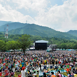Fuji Rock at Naeba Ski Resort