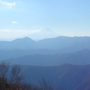 View of Mount Kumotori