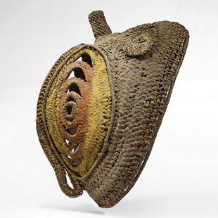 """""""Yam mask,"""" Abelam tribe from Papua New Guinea"""