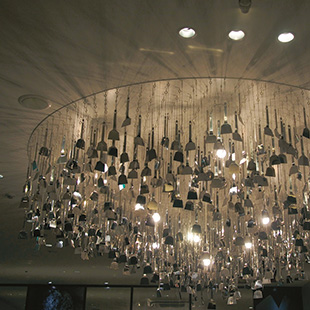 A chandelier that's harder to swing from
