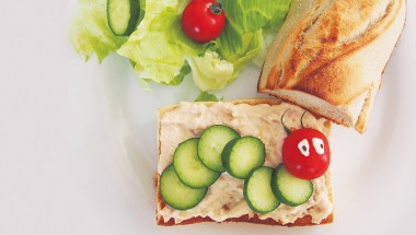 A Very Hungry Caterpillar Sandwich